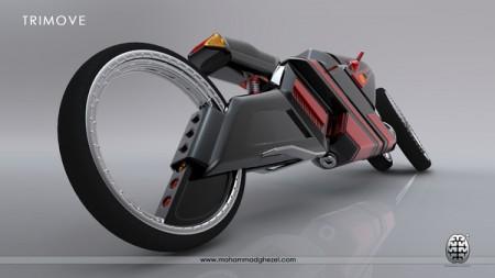 трицикл будущего