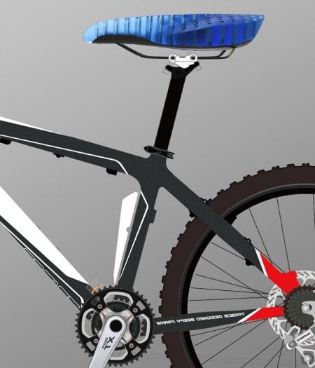 велосипедное сиденье