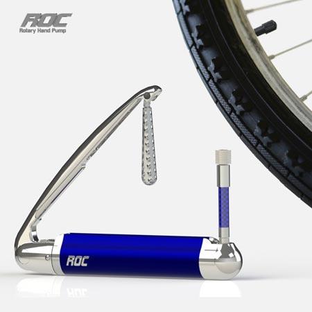 ротационный велосипедный насос