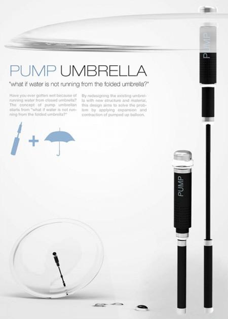 современный зонтик