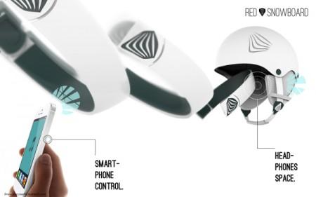 наушники в шлеме