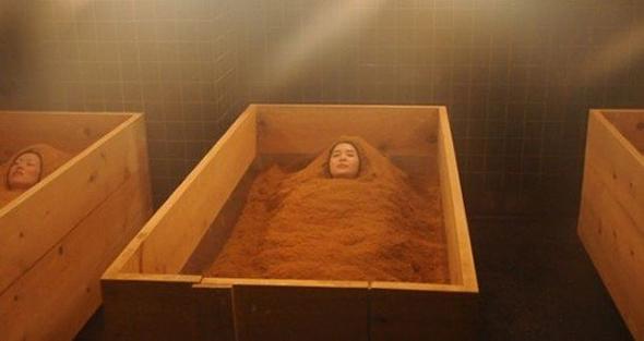 ванна из опилок