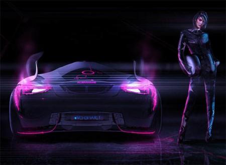 автомобиль Alienware MK2