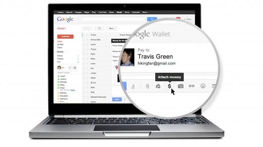 gmail google wallet