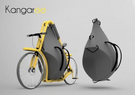 велосипед-кенгуру