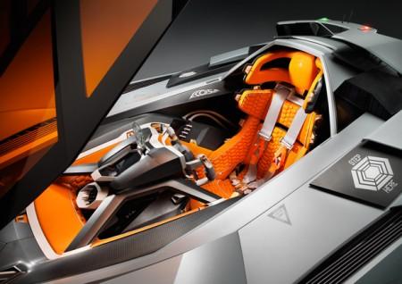 гоночное сиденье спорткара