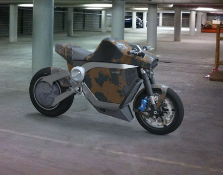 мотоцикл из 60-х