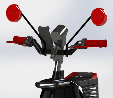 скутер будущего