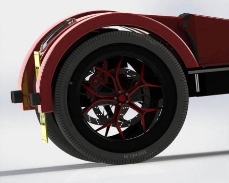 скутер на трех колесах
