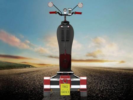 скутер tri-go