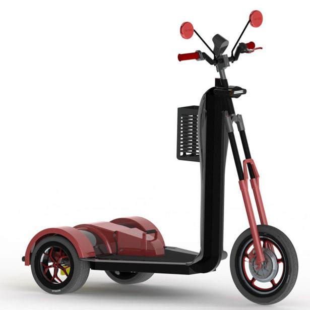 скутер-трицикл
