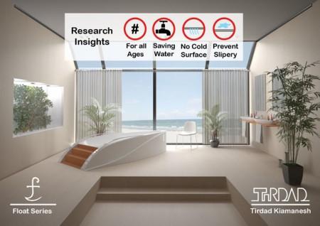 Пространство в ванной – залог расслабления