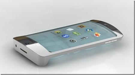 стеклянный телефон