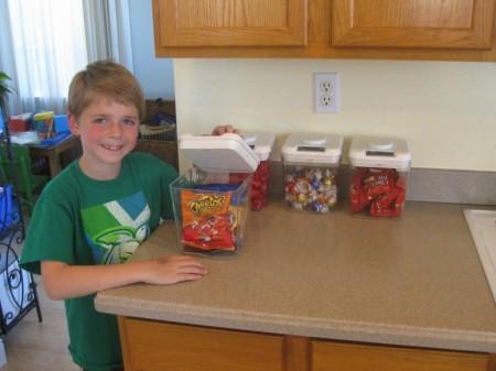 контейнер для сладостей