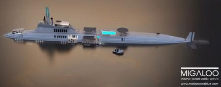 подводная яхта migaloo