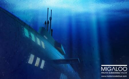 частная яхта от Motion Code: Blue