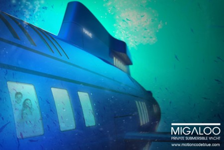 яхта от Motion Code: Blue
