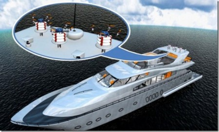 корабль для роботов