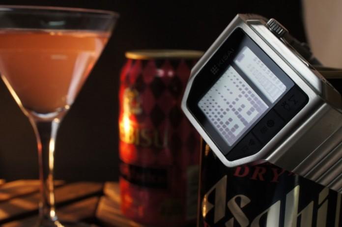 часы-алкотестер