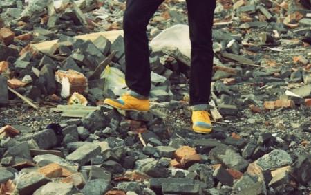 обувь из необычной бумаги