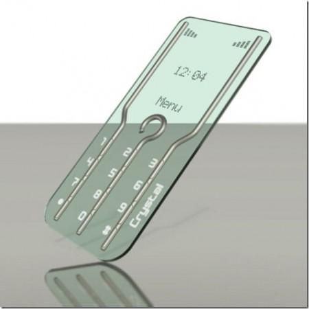 стеклянный мобильный