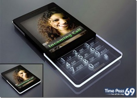 мобильник стеклянный