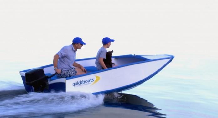 складная лодка Quickboat