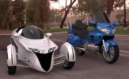 3-колесный кабриолет TerraCraft