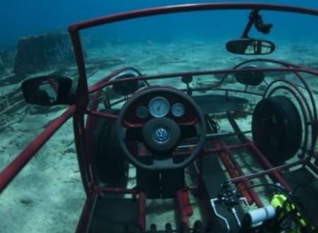 Клетка для акул из кабриолета Volkswagen Beetle