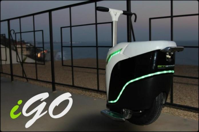 EcoBOOMER iGo, электрический велосипед