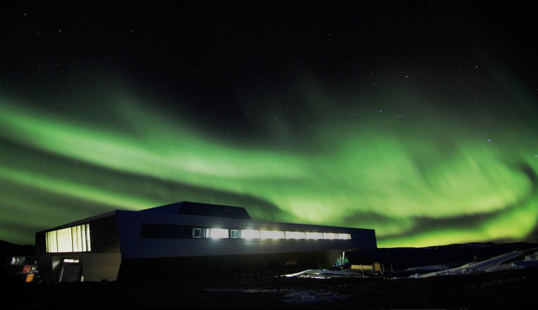 Фото | Северное сияние в Антарктике