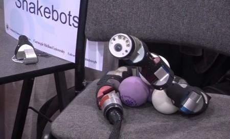 модульный робот-змея