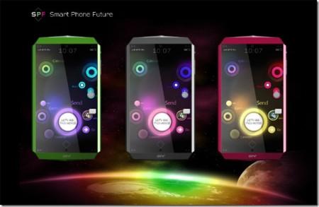 виды SPF смартфона