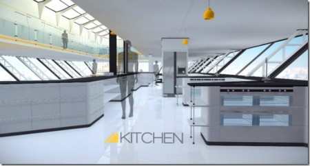 кухня aether дирижабля
