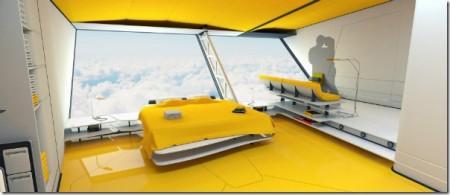 спальня aether дирижабля