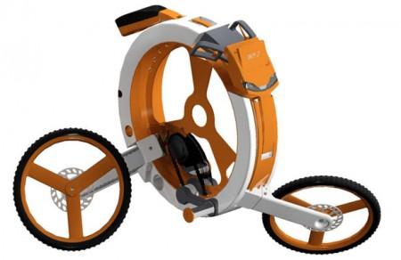 donut складной велосипед