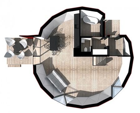 планировка эко-дома