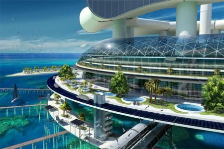 вид с курорта grand-cancun