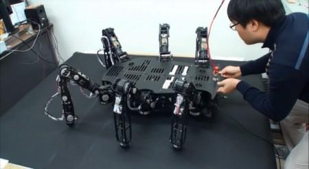 система робота Crabster