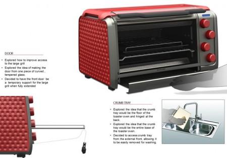 kitchenaid печь-тостер