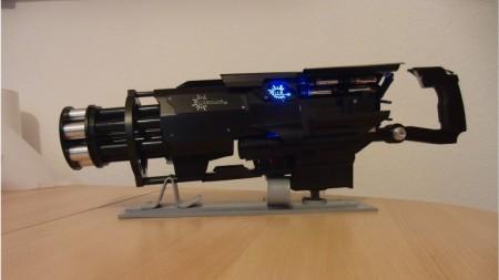 gatling лазерная пушка