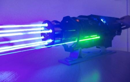 лазер gatling