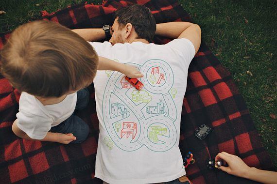 футболка-автодром