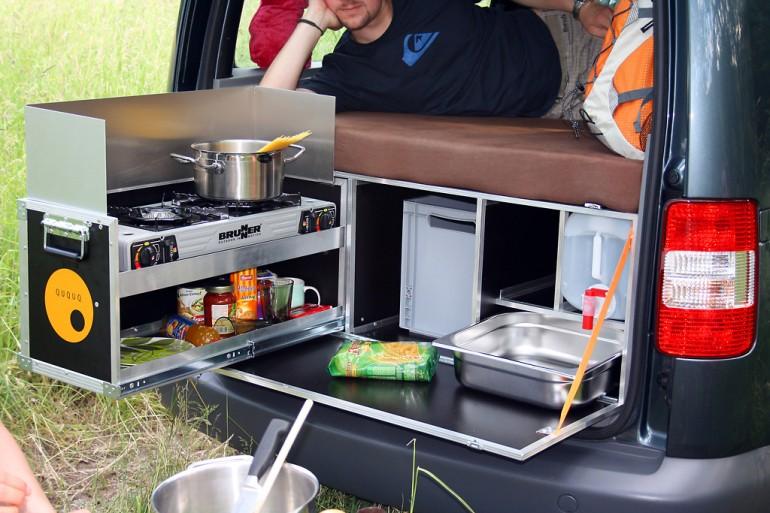 Кухня в автомобиле своими руками 46