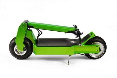 сложенный скутер