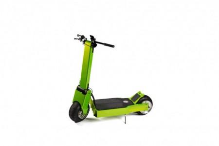 скутер в обычном состоянии