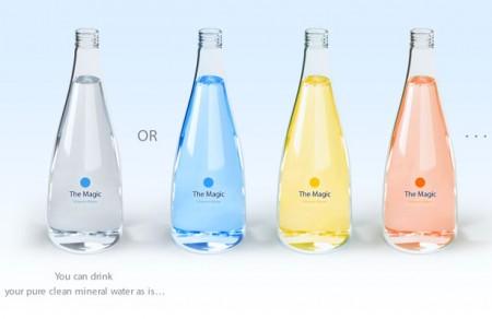 волшебный дизайн бутылки