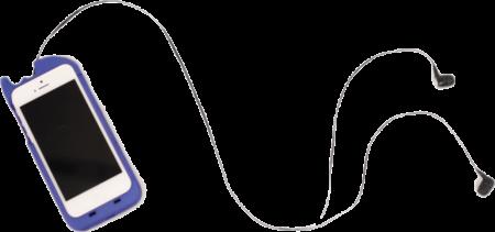 turtlecell с наушниками