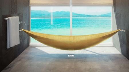 скульптурная ванна-гамак