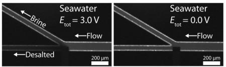 система чипа для опреснения воды